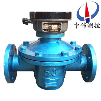 Elliptical gear flowmeter