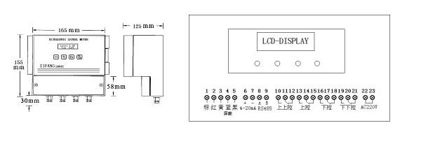 超声波液位计 分体式超声波液位计价格